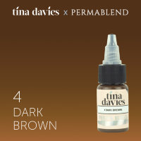 Tina Davies 'I Love INK' 4 Dark Brown 15мл
